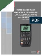 Curso Básico Para Aprender a Programar La Calculadora Hp50g (EN PROCESO)