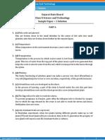 GUJARAT-Science sample paper-1-SOLUTION-class-10 question paper