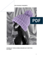 Superfast Swirl Bobble Beanie