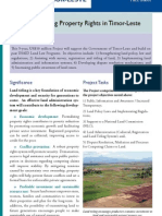 Ita Nia Rai (Our Land) Project Information Brochure