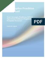 Buku Keterampilan Penelitian Kuantitatif