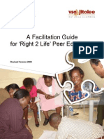 REVISEDR2L Peer Education Facilitation Guide Under Revision