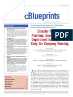 Disaster Recovery Planning Ensuring Your IT Department is Prepared to Keep the Company Running
