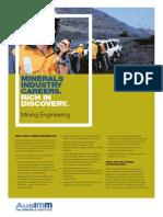 Www.ausimm.com.Au Content Docs Mining Engineering Brochure