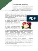 Plantas Con Propiedades Antioxidantes
