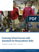 Fostering School Success with Standards for Nonacademic Skills