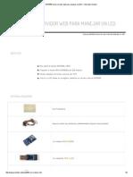 ESP8266 Como Servidor Web Para Manejar Un LED _ Tutoriales Arduino