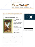 Oraculo Lenormand_ La Carta - La Magia Del Tarot