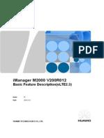ELTE2.3 IManager M2000 V200R013 Basic Feature Description