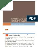 Correction Des Exercices LP8