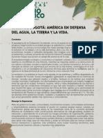 Carta de Bogota 22 de septiembre 2015