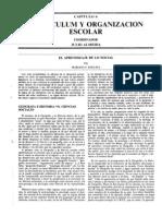 El aprendizaje de lo social (Actas I CSE, 1991)