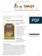 Oraculo Lenormand_ El Ratón - La Magia Del Tarot