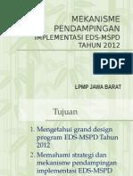 10. Mekanisme Pendampingan LPMP Tahun 2012
