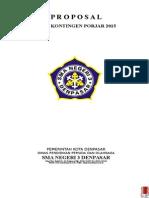 Proposal Baju Kontingen ( PORJAR )