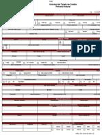 Solicitud de Tarjeta de Crédito Del Banco Bicentenario Nuevo Formato 2015 - Notilogía