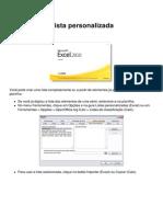 Excel 2010 Lista Personalizada 13294 Mbxjce