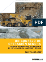 Manual Consejos Seguridad Operaciones Maquinaria Pesada Caterpillar Explotacion Canteras Aridos