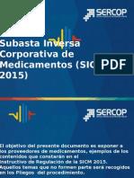 Presentacion Instructivo Sicm 2015
