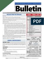BPS Newsletter #33 2015