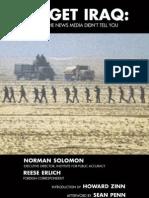 Target Iraq Norman Solomon