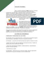 Empresas PyMEs e Innovación(LIMPIO)