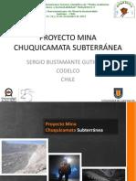 Proyecto Mina Chuquicamata Subterránea