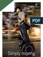 Segway 2008 Product Brochure