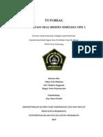Tutorial Herpes Simpleks Oral