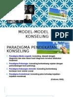 Model Model Konseling