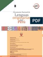 Documento Nacional de Lenguas Originarias