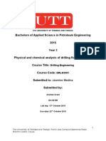 Physical and Chemical Analysis of Drilling Fluid Properties