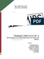 Informe Psicologico Del Caso Luis (MIPS)