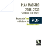 Plan Maestro Metro 2006-2030