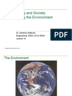 10 - Engineering the Environment