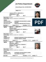 public arrest report for 30oct2015