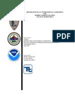 Final RPEA Report- RESTORATION PLAN / ENVIRONMENTAL ASSESSMENT FOR MORRIS J. BERMAN OIL SPILL