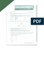 Actual 2010 STPM Physics paper