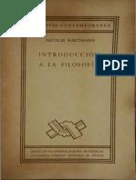 Hartmann- Introduccion a La Filosofia