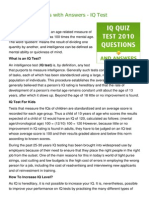 IQ Test Questions with Answers - IQ Test.pdf