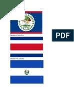 Bandera de Centro America