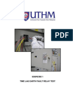 Lab 1 - Time Lag Earth Fault Relay Test (Lab 1) BEF 45101