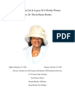 new edition theola booker funeral program