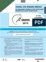 ENEM 2015 - Caderno Azul - Domingo