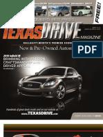 Texas Drive Magazine Mar 22-Apr 4, 2010 Issue