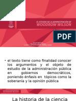El estudio de la administracion _woodrow wilson.pptx