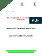 Taller Seccion 16 - Propiedades de Inversion
