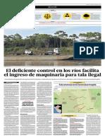El Comercio - 2015.10.30 Tala Ilegal