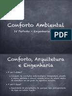 Conforto Ambiental Aula 1 PDF