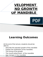 Mandible - Development and Growth